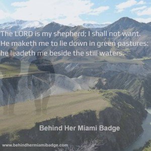 Lord is my Shepherd 12-30-15